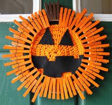 Wreath Halloween Pumpkin Decor Halloween Jack O Lantern Wreath Pumpkin