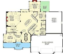 House Plans With Master Suite On Second Floor 282 Best Home Plans Images On Pinterest Dream House Plans House