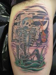 pin graveyard scene tattoo designs pictures on pinterest