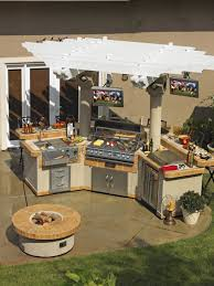 marvelous outdoor kitchen design ideas home with pizza oven