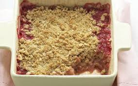 apple pear crumble rhubarb apple and pear crumble recipe food to love