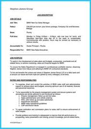 Automotive Sales Resume Awesome Special Car Sales Resume To Get The Most Special Job