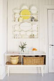 Shabby Chic Plate Rack by Norway Vintage Glass Display Kitchen Shabby Chic Style With Wall