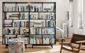 Bookcases As Room Dividers Dahl Bookcase Room Dividers Modern Bedroom Furniture Room U0026 Board