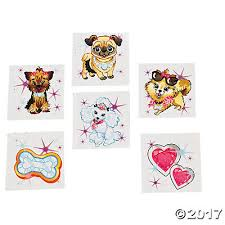 fashion puppy tattoos oriental trading discontinued