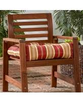 Orange Patio Cushions by Amazing Striped Patio Cushions Deals