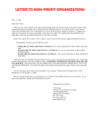 cover letter cover letter for non profit organization best cover