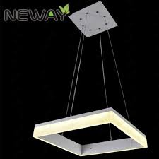 Square Chandelier 28w 127w Modern Light Fixture Of Ceiling Square Chandelier Square
