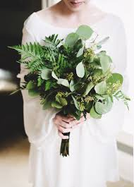 Fern Decor by Greenery Bridal Bouquets Various Ferns And Whimsical Silver
