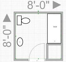 small bathroom floor plans 5 x 8 10 best images of 8x8 bathroom designs with shower 8x8 bathroom