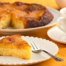 cuisiner avec du lait de coco recette gâteau renversé à l ananas et au lait de coco