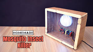 how to make a mosquito insect killer from scrap homemade youtube