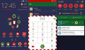 samsung galaxy note 5 christmas market theme smartphones
