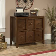 sauder 2 drawer file cabinet dakota pass console with file 420571 sauder