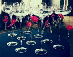 martini glass centerpieces stemless martini glasses for wedding crustpizza decor