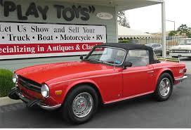 1974 triumph tr6 roadster convertible