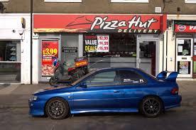 fastest subaru wrx fastest pizza in town subaru