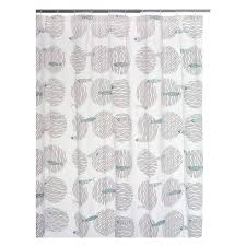 Shower Curtain For Sale Fish Grey And Blue Patterned Shower Curtain Buy Now At Habitat Uk