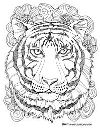coloring page tiger paw coloring pages tiger new tiger coloring sheets coloring page tiger
