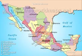 North America World Map by Where Is Mexico Located On The World Map