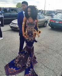 as white teacher tells black student her african themed prom dress