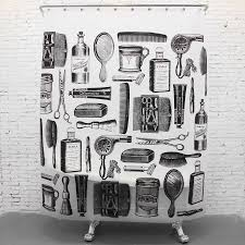 bathroom unique modern drawing fabric shower curtain bathroom unique modern drawing fabric shower curtain decor ideas with stainless steel ril