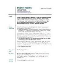 College Interview Resume Template 20 College Interview Resume Template 15 Must See Student Resume