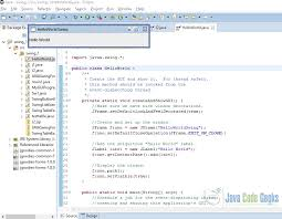 gui swing java swing application exle exles java code geeks 2018