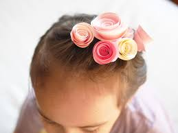 hair accessories for kids diy paper flowers hair for kids magazine