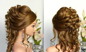 curly hair up styles for wedding curly wedding prom hairstyle for