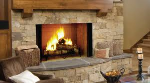 decor vintage stone astria wood burning fireplace for traditional