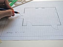 how to create a floor plan and furniture layout hgtv pencil drawn living room floor plan on graph paper