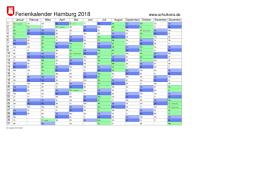 Kalender 2018 Hamburg Kostenlos Drucken Schulkreis De Schulferien Kalender Hamburg 2018 Feiertage Ferien