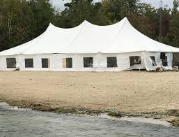 tent rentals maine the tent shop wedding tent rentals