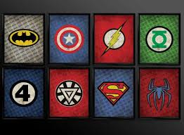 Diy Superhero Room Decor Best 25 Superhero Wall Art Ideas On Pinterest The Source Dc