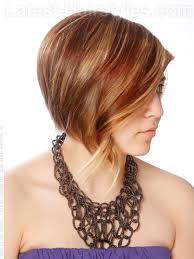 haircuts for shorter in back longer in front love the color and the style looks fun long piecey front shaped