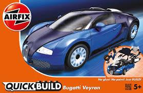 airfix j6008 airfix quick build bugatti veyron