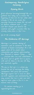 wedding ceremony script non religious contemporary non religious ceremony wedding weddings and