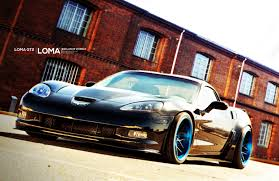 corvette zr1 black black chevy corvette zr1 gt2 widebody on concave loma wheels