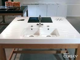 corian kitchen sinks impressive corian kitchen sinks sink drainboard mydts520