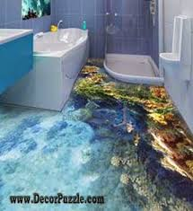 bathroom floor idea 3d bathroom floor murals designs and self leveling floors