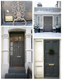 Painting Exterior Door Exterior Color Inspirations The Understated Elegance Of The