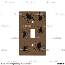 black widow spider light switch cover zazzle friends pinterest