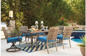 outdoor dining rooms ashley partanna outdoor dining room collection by dining rooms outlet