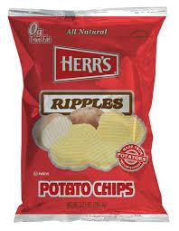 ripples chips herr s ripples potato chips snacks