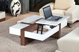 Laptop Pillow Desk by Coffee Table Modern Wooden Coffee Table Laptop And Cozy Sofa