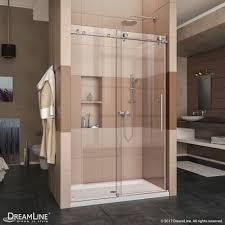 Large Shower Doors Enigma X Sliding Shower Door Dreamline