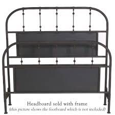 Black Metal Headboard And Footboard Burlington Iron Headboard Queen U0026 King Sizes