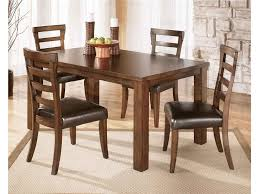 dining chairs brown and merton brown faux leather and oak dining