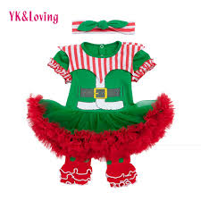 new year baby clothes newborn santa claus romper tutu dress christmas baby